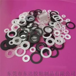 工厂直销透明PVC绝缘垫片 耐高温PET透明介子垫圈 耐磨尼介子垫片