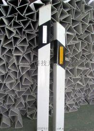 厂家直销双面黄白反光标 玻璃钢柱式轮廓标 公路诱导标 PVC轮廓标