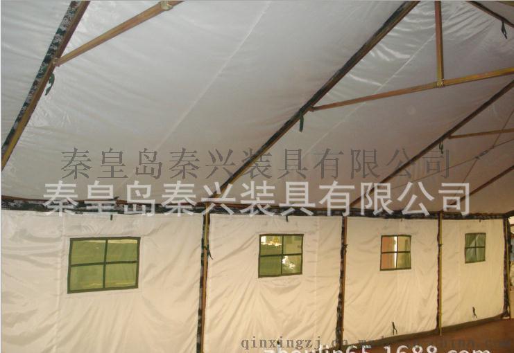 10x5m框架棉帐篷 户外露营帐篷 野外迷彩帐篷 三层施工帐篷