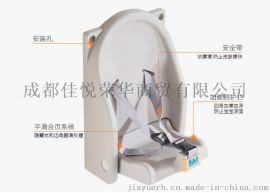 嬰兒座掛椅 廁所嬰兒安全掛椅 可折疊壁掛式嬰兒座椅