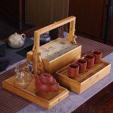 茶葉禮品盒竹製包裝盒收納盒旅行食盒禮品食品盒定做