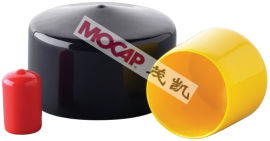 软质塑料盖 圆形浸塑盖 钢筋保护帽 茂凯专业生产