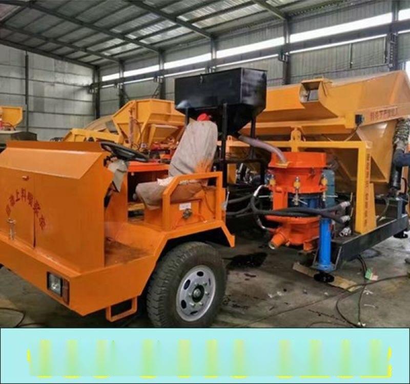 北京顺义区液压上料喷浆车_服务为先喷浆机结合板