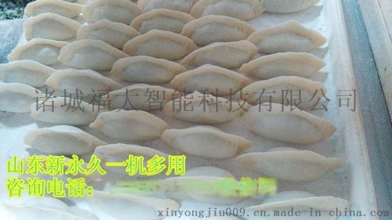 山东新**多功能饺子机全自动不锈钢水饺机视频