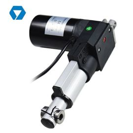 電動升降臺驅動電機 升降推拉機構 直線頂杆驅動裝置YNT-01