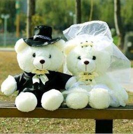 情侣婚庆泰迪熊