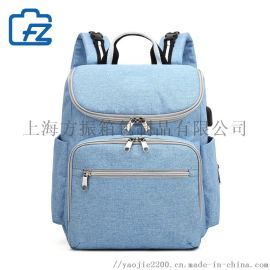 上海订制厂家定做时尚妈咪包可加LOGO