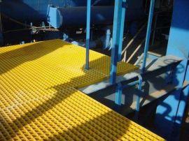 洗車房地面網格板玻璃鋼格柵制作工藝