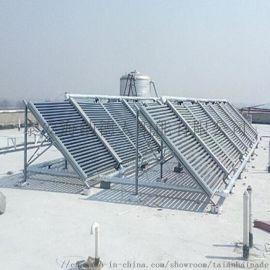 可高效集热的方阵式太阳能热水工程