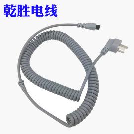 定制加工医疗机器设备电源线弹簧线