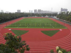 江苏南京 混合型塑胶跑道建设 透气型塑胶跑道施工