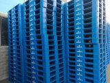 南岸塑料托盤價格1米x1米平板九腳倉庫墊板塑膠棧板