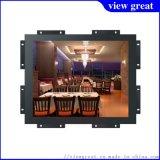 12.1寸高亮金屬外殼工業級鐵殼嵌入式LED背光屏