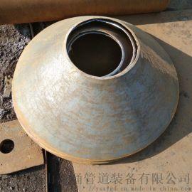 设备锥体 钢制直缝锥尖 方变园异径管