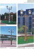 户外不锈钢庭院灯高杆灯防水3米路灯地灯公园景观灯