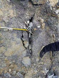 露天开挖岩石找破石机破裂机