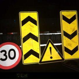 运城交通标志牌厂家制做,3M反光膜标牌
