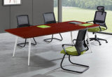 2407款2.4米油漆会议桌 胡桃木皮绿色环保家具