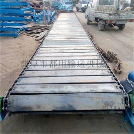 链板线 槽钢板链输送机 都用机械废纸打包输送机
