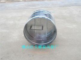 白铁工程弯头供应圆形电动调节阀  法兰套管  等螺旋风管配件质量保证