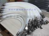 SINHON玻璃纤维硅胶管  供应透明硅胶编织管