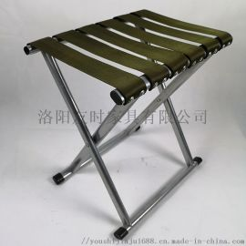 洛阳友时安全带凳面马扎火车小座椅排队折叠椅