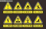安全标志牌的分类和配置规则
