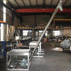 专业生产不锈钢螺旋输送机 螺旋提升机厂家直销
