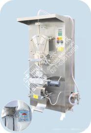 PE复合膜液体包装机,单层膜液体包装机,间歇式液体包装机