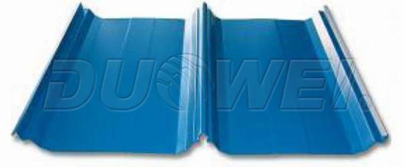 供應yx54-410-820型角弛820型彩鋼板丨波峯高防水性能優越