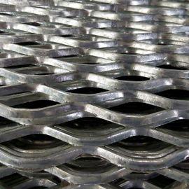 幕牆鋼板菱形網 鋼板拉伸網 菱形網