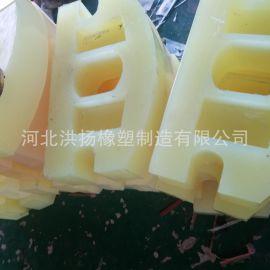 高耐磨聚氨酯垫块 聚氨酯减震耐磨胶块 优力胶缓冲块