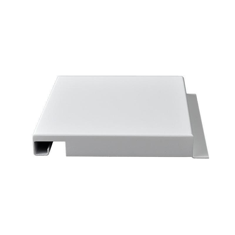 打胶无缝铝单板幕墙厂家定制普通粉末墙密拼铝勾搭