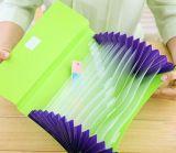 专业生产彩色pp风琴包