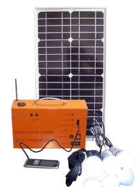 太阳能带收音机发电系统