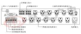安装上海校园广播数字可寻址自动广播设备HT-6000