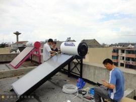 100L阳台壁挂平板太阳能集热器
