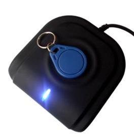 高频双界面读写器接触式与非接触式一体带2个sam卡座