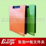 中國制造網推薦 比而格PP發泡豎式雙板夾 A4文件夾 資料夾 板夾 辦公文具