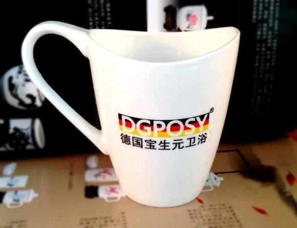 广告陶瓷杯礼品陶瓷杯4S店赠品杯子马克杯咖啡杯定制订做