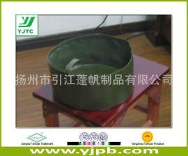 软体脸盆,户外野营,便携式 绿色  训练脸盆
