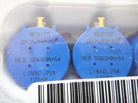 BOURNS品牌3590S-2-501L多圈线绕电位器