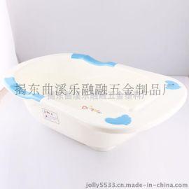 乐融融   浴盆儿童洗澡盆  浴缸大号加厚卡通PP塑料