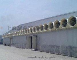 A车间通风降温设备 负压冷风机 玻璃钢风机   价