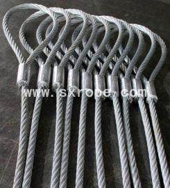 顺鑫钢丝绳索具,铝合金压制钢丝绳索具