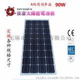 供應佳潔牌JJ-90DD90瓦單晶太陽能電池板