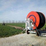 甘肃卷盘式喷灌机Jp75-300TX 苜蓿种植自动浇水设备