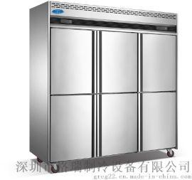 深圳格瑞冷柜,立式不锈钢厨房高身冷冻展示柜,商用保鲜冷藏制冷设备,立式冰柜厂家批发