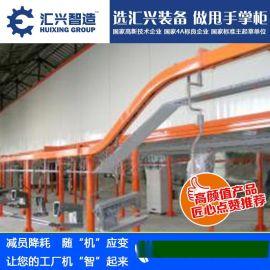化妆品HLX-TZX广西涂装设备生产线