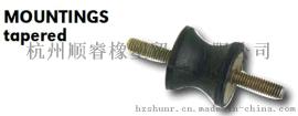 橡胶减震器 橡胶制品 橡胶减震垫瘦腰减震器